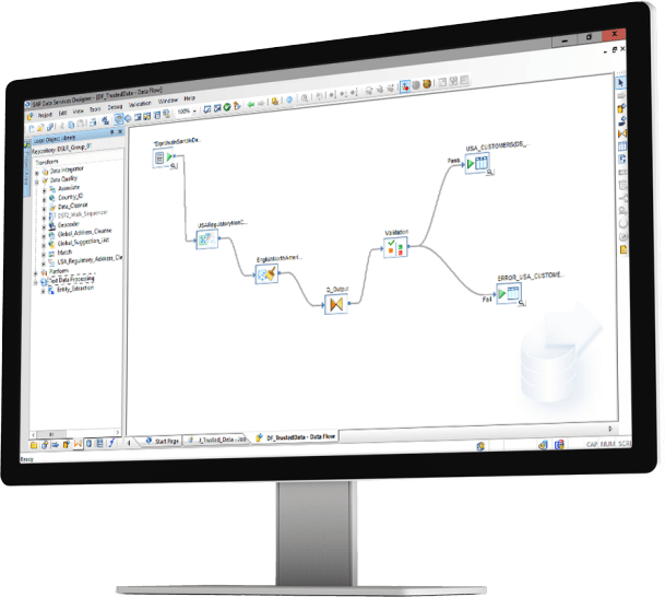 sap data services device trnsdtqual - SAP® Software